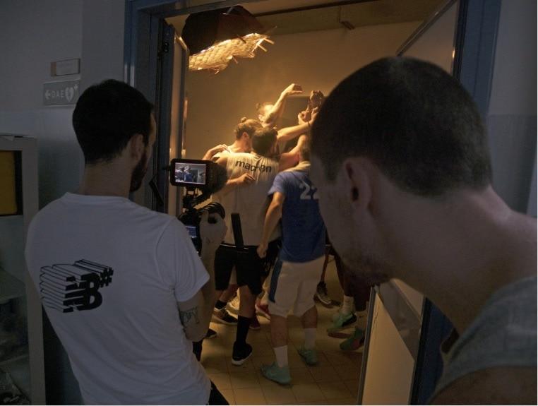 backstage video pallacanestro